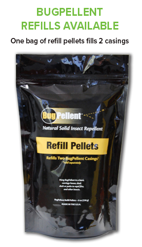 BugPellent refill all natural insect repellent
